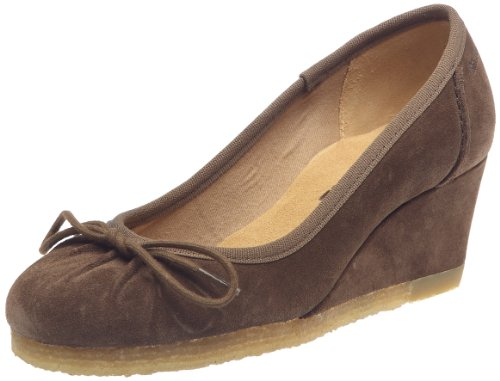 Clarks Yarra Gold 203475734, Scarpe con tacco donna Marrone (Braun/Walnut Suede)