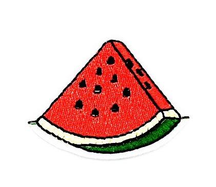 rabana Watermelon Fruit Cartoon Kids Kinder Cute Animal Patch für Heimwerker-Applikation Eisen auf Patch T Shirt Patch Sew Iron on gesticktes Badge Schild (Kostüme Wassermelone Kids)