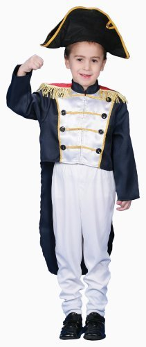 Dress up America Historical Colonial General Costume Set (L) by Dress Up - Colonial America Kostüm Kinder