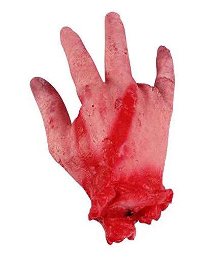 Set von 2 Halloween Scary Dekorationen Fake Bloody Körperteile Requisiten [D]