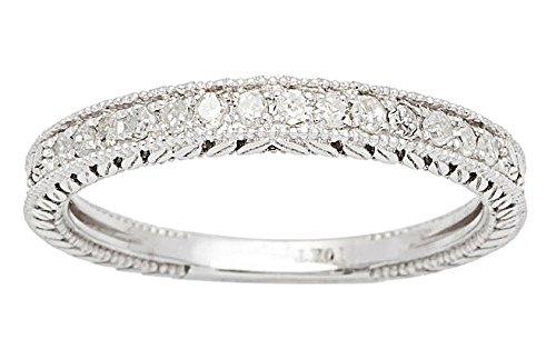 10k-white-gold-1-4ct-vintage-style-engraved-diamond-wedding-band-g-h-i1-i2