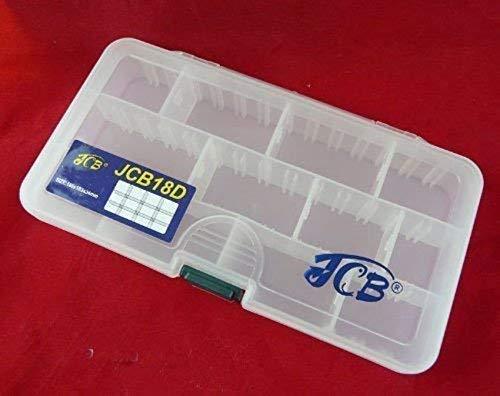 Plastikbox Angelbox Köderbox zubehörbox Hakenbox TACKLEBOX (JCB18D)