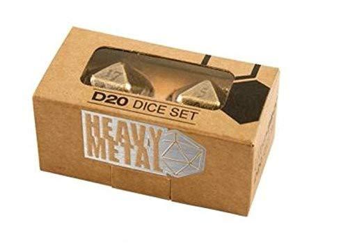 Ultra Pro Heavy Metal D20Würfel-Set