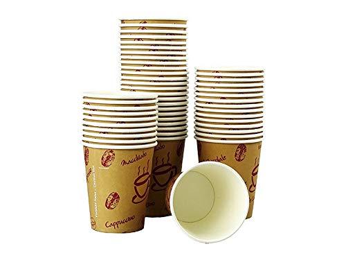 """200 Stk. Kaffeebecher Premium, Coffee to go, Pappe beschichtet, 200 ml / Hochwertiger hitzebeständiger """"Coffee to go"""" Becher bedruckt mit Motiv """"HOT BEANS"""""""