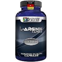 Preisvergleich für Ironbody Arginin Premium, 100 Kapseln Dose (Made in Germany!)