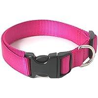 Chico Collier ultra résistant en nylon pour petit chien/chiot Rose Taille XS Longueur réglable en continu 15-25cm