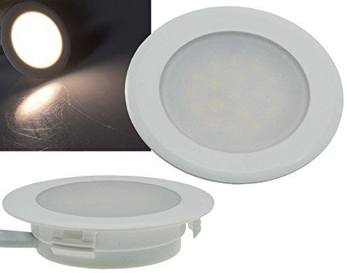 LED-Einbauleuchte 170 Lumen 2 Watt 230V Einbauspot für 60mm UP Dose Neutralweiß -
