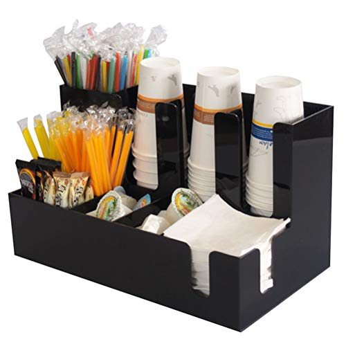 Paper Cup Condiment Holder Für Cafe Home Hochzeitsfeier Counter Display Cup Dispenser Veranstalter