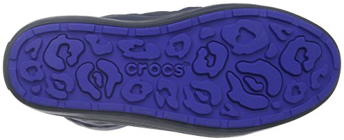 Crocs LodgePoint Pull-on Boot, Bottes de Neige femme Bleu (Navy)