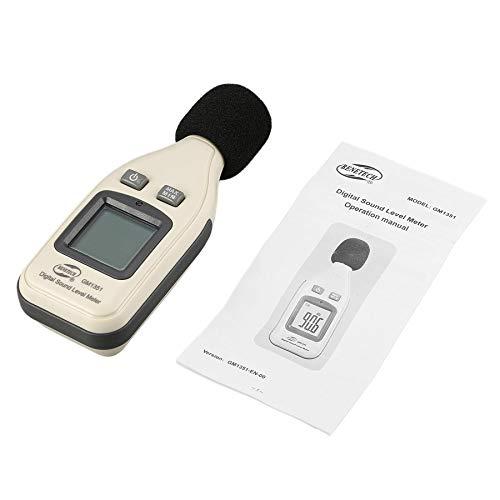 GM1351 30-130dB Digital Schallpegelmesser Noise Volume Dezibel Überwachung