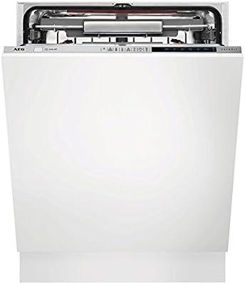 AEG FSE83800P lavavajilla Totalmente integrado 13 cubiertos A+++ - Lavavajillas (Totalmente integrado, Tamaño completo (60 cm), Acero inoxidable, Botones, Frío, Caliente, Natural)