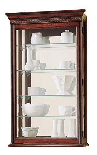 Howard Miller 685–104Edmonton Curio Schrank von (Cabinet Home Decor Glas Curio)