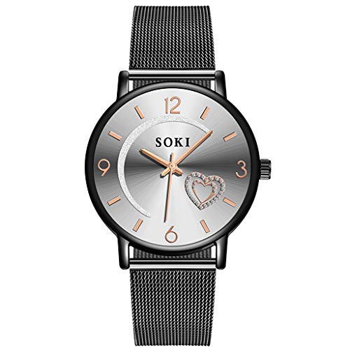 XZDCDJ Damen Armbanduhr Neue 2019 Mode Love Diamond Dial Damenuhr Damen Uhren Billig