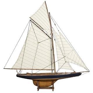Authentic Models AS108F - Segelschiffmodell - COLOMBIA - handgefertigt 94 x 13 x 90 cm (S)