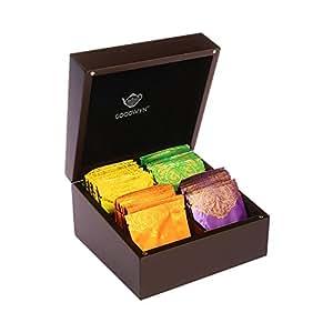 Goodwyn Tea Alluring Chest -A Royal Exotic Wooden Tea Gift Box-40 Tea Bags