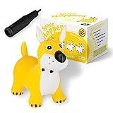 all kids united Hüpftier Sprungpferd Hund - Hüpfpferd Sprungtier + Pumpe