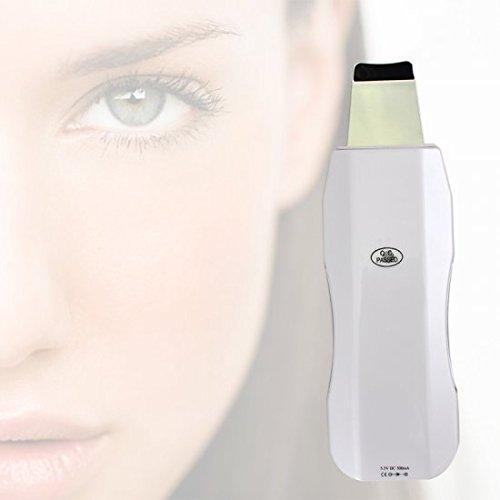Denshine Portable Skin Scrubber Ultrasonic Massager Ultrasound Facial Peeling Cleaner/ Depurador ultrasónico portátil piel Masajeador Ultrasonido limpiador facial de la peladura