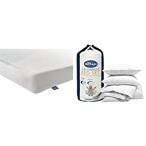 Silentnight Mattress 3-Zone Memory Foam Rolled Mattress