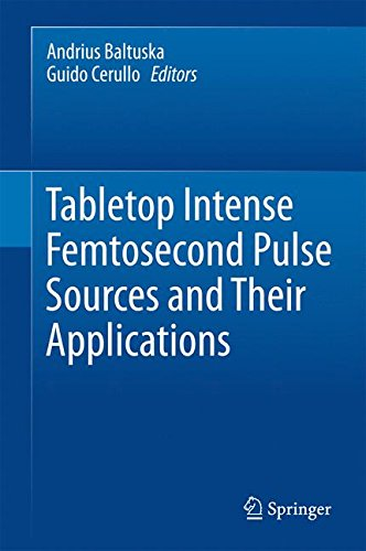 Tabletop Intense Femtosecond Pulse Sources and Their Applications