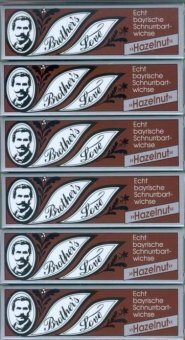 Togal Brother`s Love Bartwichse, 6x10 ml hazelnut, Sparpack