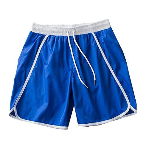 iYmitz Herren Badehose Sommer mit Kordelzug Schnell Schnelltrocknend Laufen Schwimmen Shorts Boardshorts Sweatpants Trainingshose