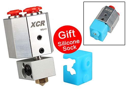 3D-Drucker Teile XCR WS-V1 wassergekühlt Hotend All Metal Bowden-Feed 0.4/1.75 Wassergekühlt für Titan MK8 Extruder PLA ABS