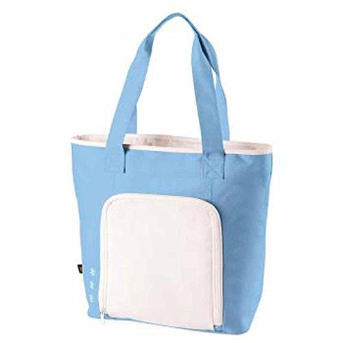 HALFAR-zaino isotermico da pic-nic, picnic 1807551, unisex - Bleu clair et blanc