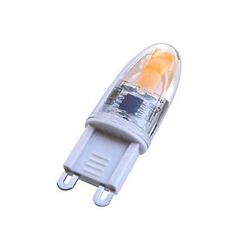 Bombilla G9, 1xCOB, 2W, 360º, regulable, Blanco cálido, Regulable