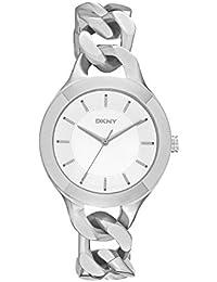 DKNY Damen-Armbanduhr Analog Quarz Edelstahl NY2216