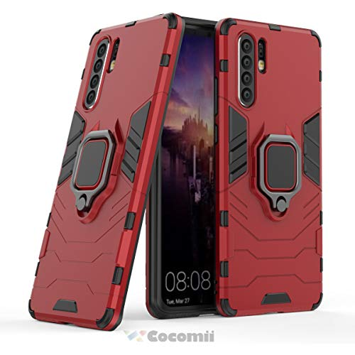 Red Pro Guard Case - Cocomii Black Panther Armor Huawei P30