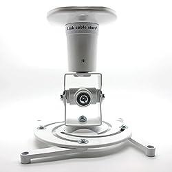 LCS - Deckenhalterung - Weiß - für neig und schwenkbar Projektor