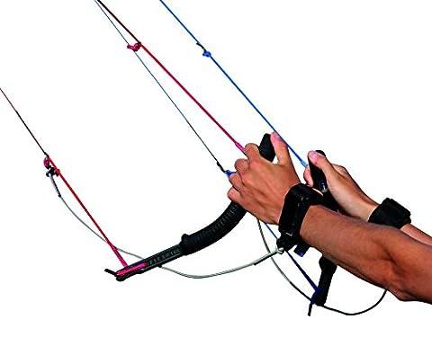 Flexifoil PROLINK 4Line Poignées (avec sangle de sécurité) recommandé Contrôle Gear pour Flexifoil Rage cerfs-volants. confortable, sûre et durable–complet avec 90jours garantie de remboursement