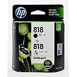 HP Combo Of 818 Print Cartridge Pack Of 2 (Black/Tri-color)