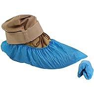 200Premium simplemente Direct fundas desechables para zapatos/Overshoes. Fuerte suelo, alfombra, protectores de zapatos CPE 3.5g x 100. EMBOSSED. Mediano a uso intensivo