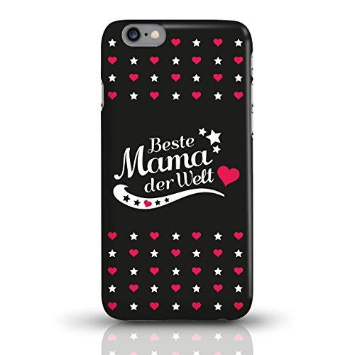 """JUNIWORDS Handyhüllen Slim Case für iPhone 6 / 6s mit Schriftzug """"Beste Mama der Welt"""" - ideales Weihnachtsgeschenk für die Mutter - Motiv 4 - Handyhülle, Handycase, Handyschale, Schutzhülle für Ihr S motiv 3"""