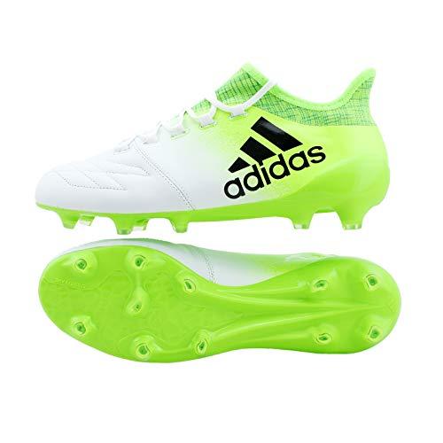 Adidas X 16.1Leather FG Fußballschuh Herren, Weiß(Ftwbla/negbas/Versol) 44