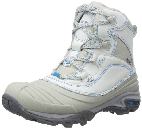 Merrell  SNOWBOUND MID WTPF,  Scarpe da escursionismo e trekking donna, Bianco (Weiß (ICE)), 40