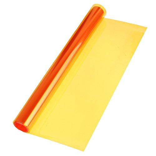 FamilyMall(TM) Folie Scheinwerfer 30cm x 120cm Tönung Vinyl Auto Orange