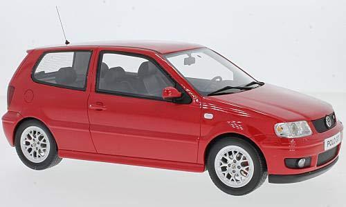 VW Polo GTI, Rot, 2001, Modellauto, Fertigmodell, Ottomobile 1:18