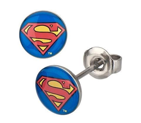 Clark Costume Kent Pour Les Femmes - DC Comics Superman classique Logo Bouclier Boucles