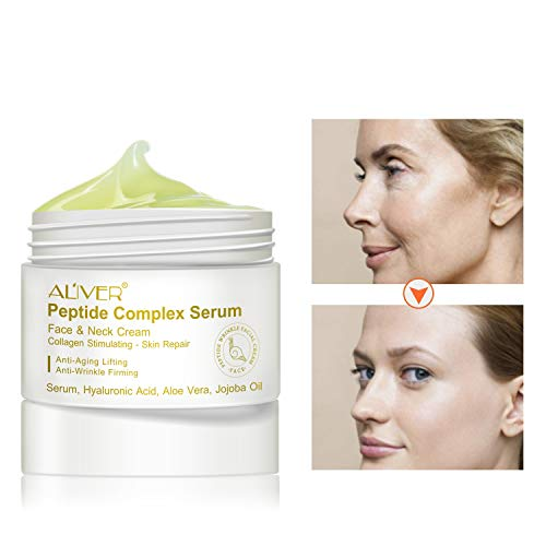Advanced Tightening Moisturizer Cream, 2 Packs ALIVER Revitalift Extra Firming Cream for Face Contours, Neck Re-Support & Décolleté - Anti-Aging, Wrinkles, Moisturizing Reduces Signs Of Ageing(30g) -