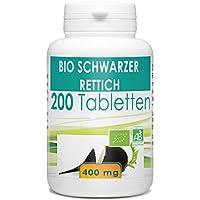 Bio Schwarzer Rettich 400 mg, 200 Tabletten preisvergleich bei billige-tabletten.eu