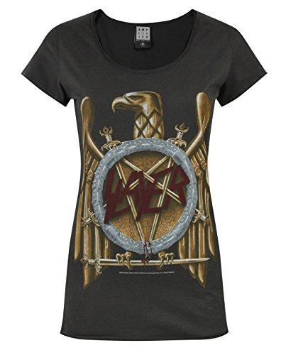 Amplified -  T-shirt - T-shirt con stampe - Maniche corte  - Donna grigio M