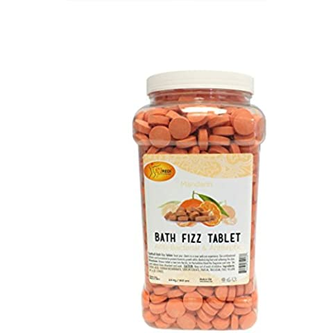 Bath Fizz Tablet (Mandarin) by