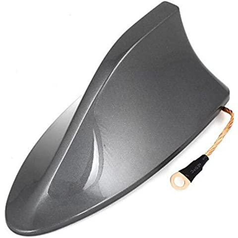 azotea base de la aleta de tiburón diseño plástico adhesivo decorativo 16cm antena de largo para rav4 toyota ,