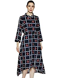 global desi Rayon a-line Dress