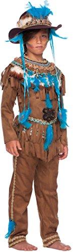 Carnevale Venizano CAV50687-XXXL - Kinderkostüm GRANDE CAPO INDIANO - Alter: 11-12 Jahre - Größe: (Kostüm Indiana Carnevale)