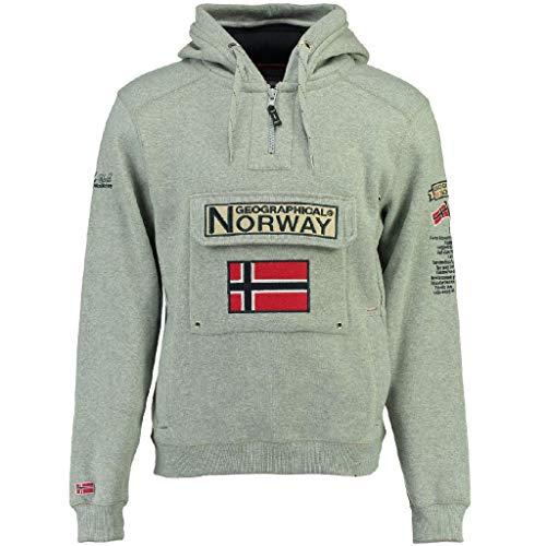 Geographical Norway Sudadera DE NIÑO GYMCLASS Gris Melange 16