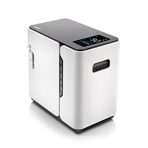 Tragbarer Konzentrator (yuwell YU300 Tragbarer Sauerstoffkonzentrator Sauerstoffgerät Oxygen Concentrator 1L - 5L/min)