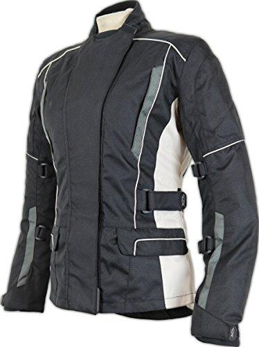 Damen Motorrad Jacke Wasserdicht (Taillierte Passform)
